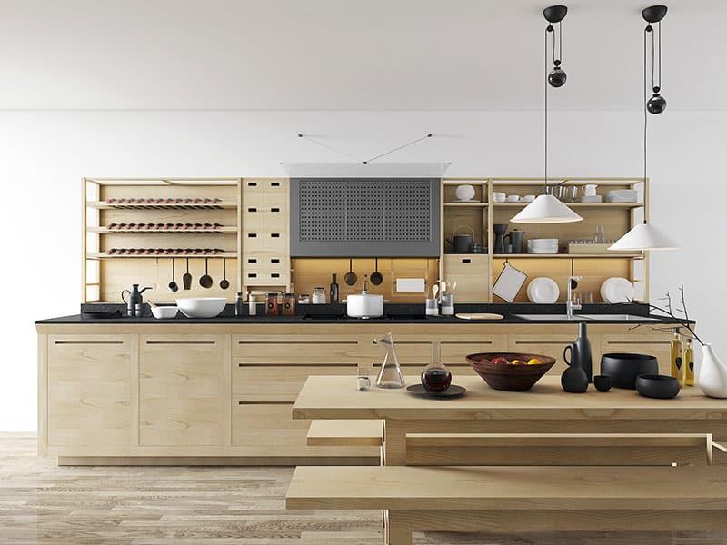 Free model Valcucine kitchen  Amr Moussa