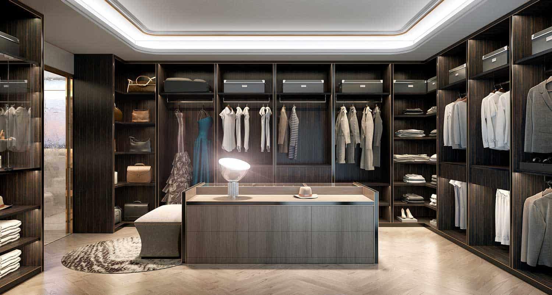 Free sceneWalk in closet  Bao Doan