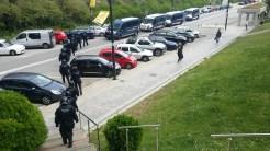 Finalment, els mossos d'esquadra abandonen el campus