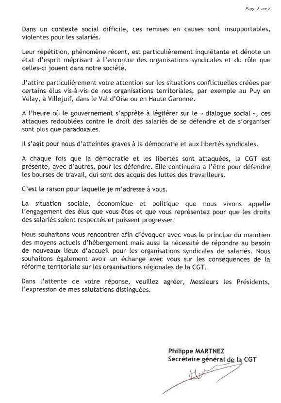 Lettre AMF 2