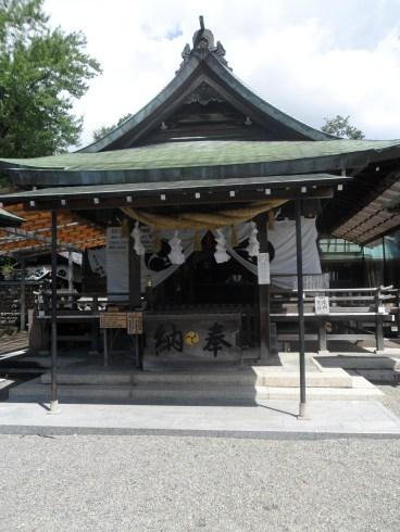 Shrine near the castle