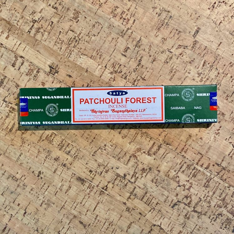 Patchouli Forest Incense Sticks 15g