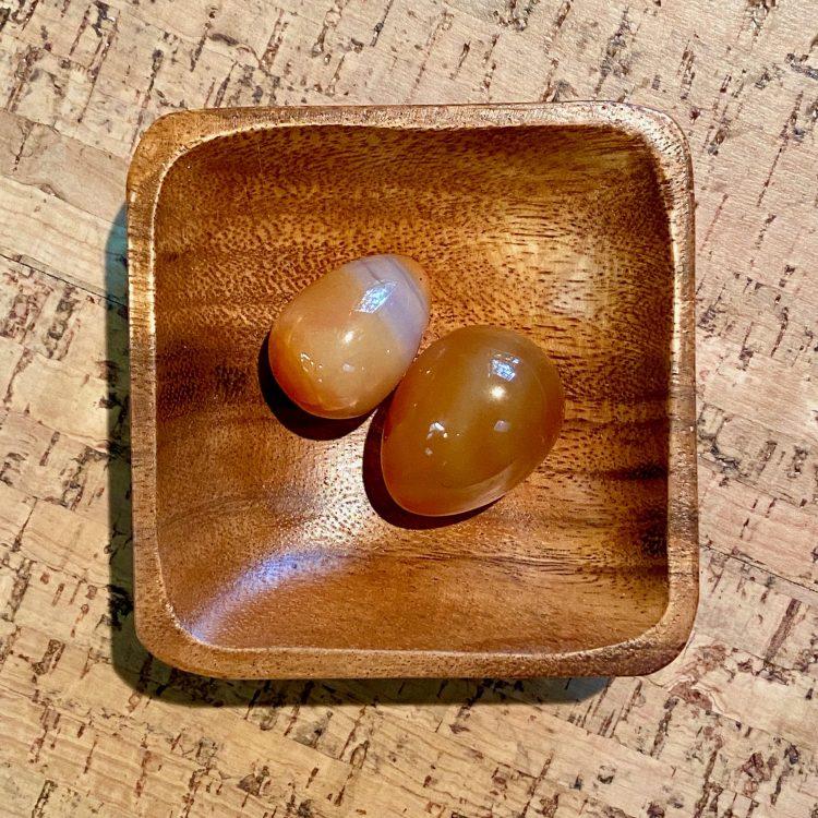 Carnelian Yoni Egg