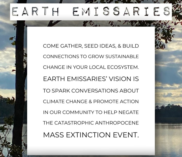Earth Emissaries Meetup (May 29th 2:30pm-3:30pm)
