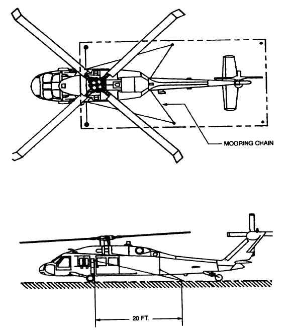 Figure 4-8b. EH-60 Mooring Configuration.
