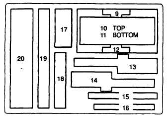 Figure 9-46. Emergency Wire Repair Kit (Contents Chart