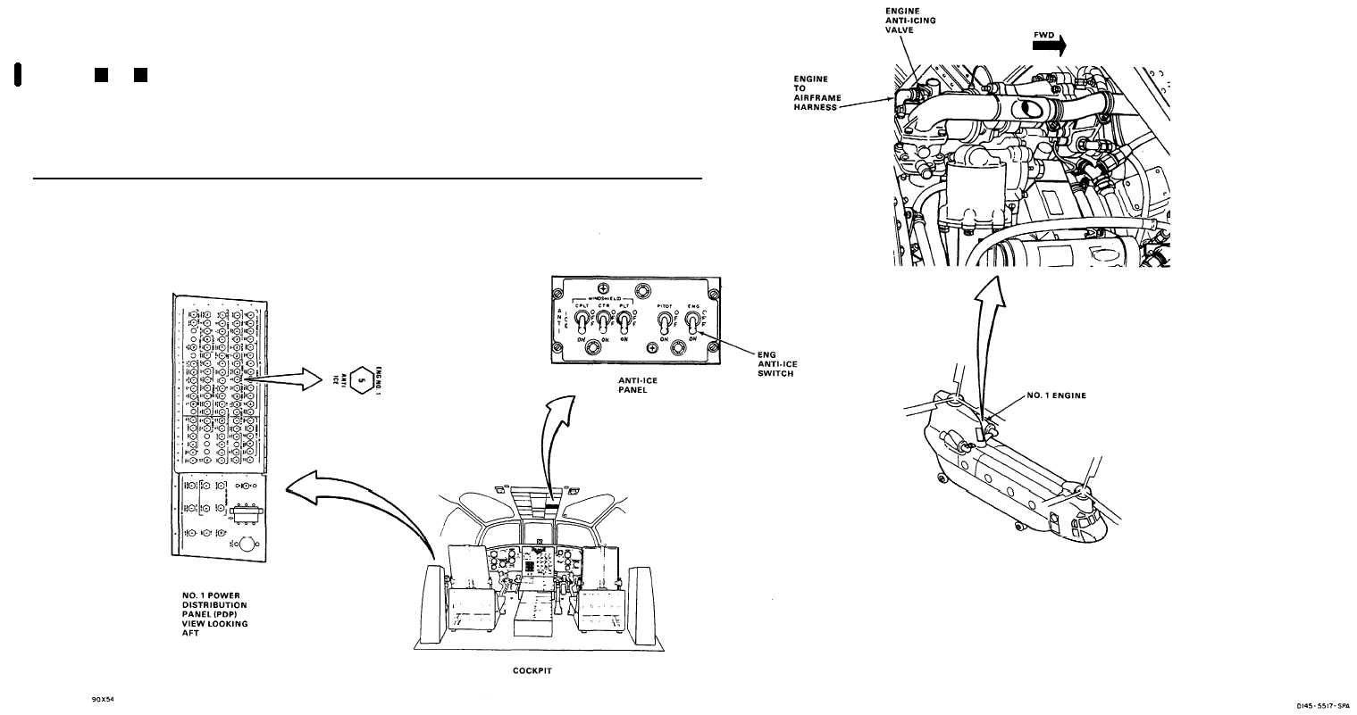 4-2.6 NO. 1 ENGINE ANTI-ICING VALVE DOES NOT OPERATE