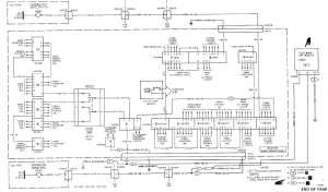 MAINTENANCE PANEL POWER DISTRIBUTION WIRING DIAGRAM