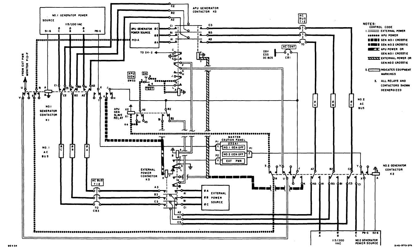 Power System Schematic Continued