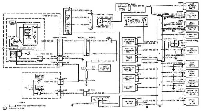 console panel lights wiring diagram