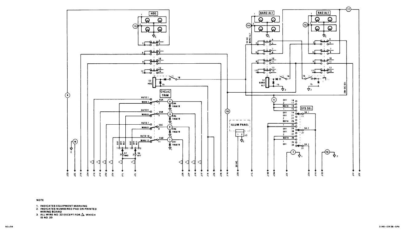 AFCS CONTROL PANEL WIRING DIAGRAM