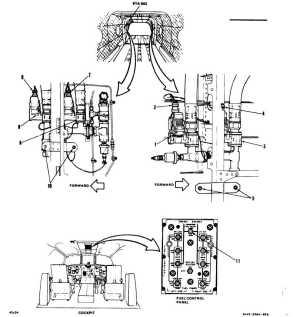 ENGINE FUEL SHUTOFF AND CROSSFEED VALVES VISUAL CHECK