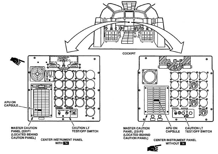 APU ON CAPSULE OUT WHEN APU OPERATING NORMALLY