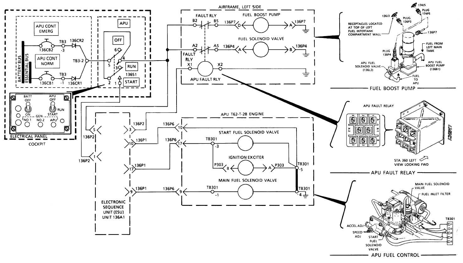 Apu Fuel System Electrical Schematic