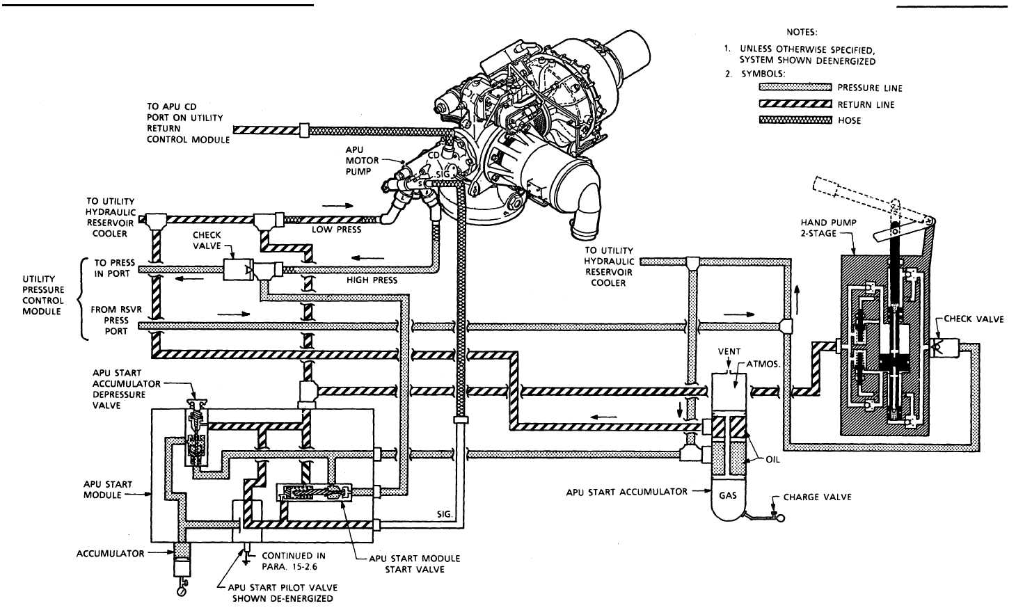 Double Action Fuel Pump Diagrams