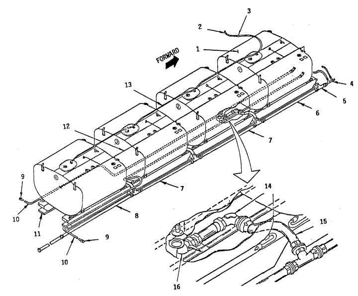 Figure C-2. Extended Range Fuel System (Sheet 1 of 2)