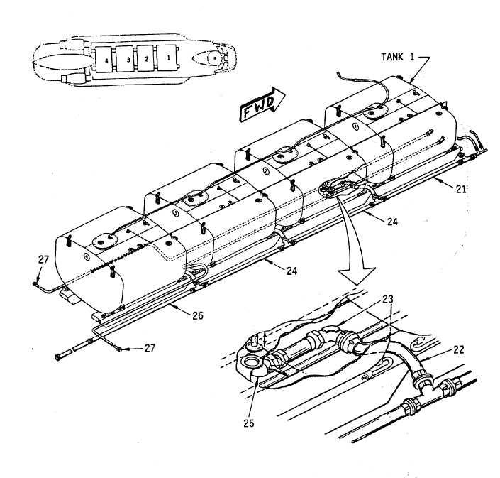 Figure 1-1. Extended Range Fuel System (Sheet 3-of 5)