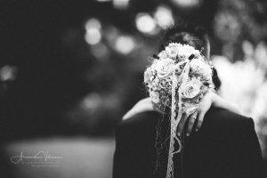Blumenstrauss im Fokus
