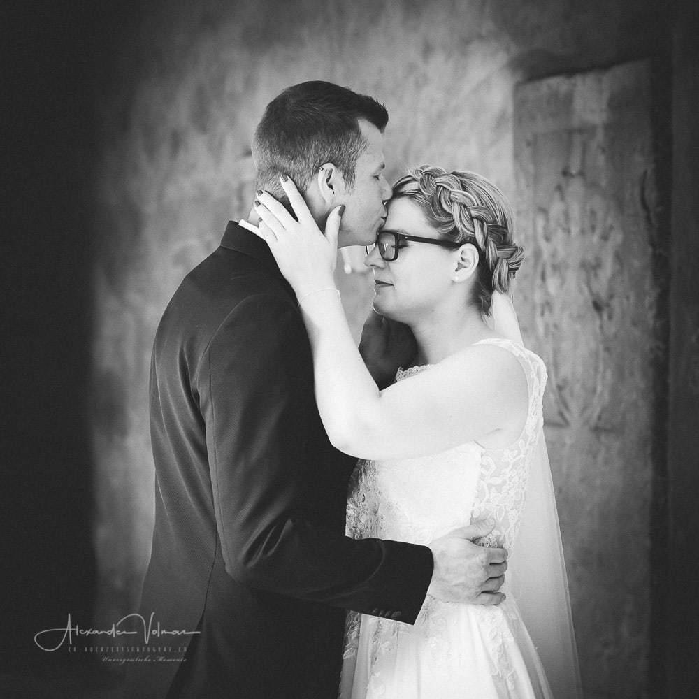 Hochzeitsreportage romantisches Fotoshooting