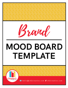 Brand Mood Board Template | Chapter 2 Creative