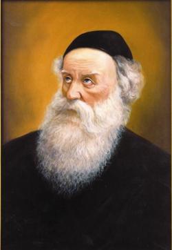 Image result for דיוקן הרב זלמן שניאור מלאדי
