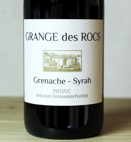 Grange des Rocs Syrah/Grenache 2019