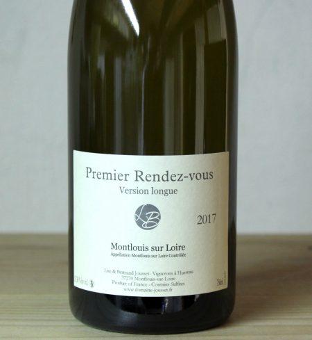 Lise et Bertrand Jousset 'Premier Rendez-Vous Version Longue' Montlouis-sur-Loire 2017