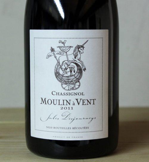 Jules Desjourneys Moulin a Vent 'Chassignol' 2011