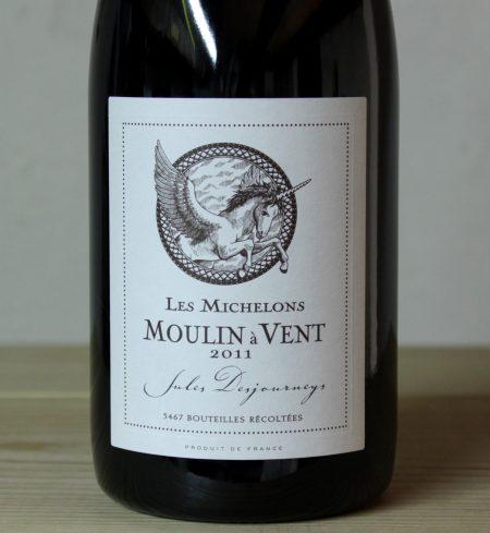Jules Desjourneys Moulin a Vent 'Les Michelons' 2011
