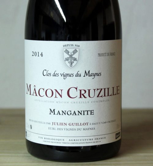 Clos des Vignes du Maynes Macon-Cruzille 'Manganite' 2014