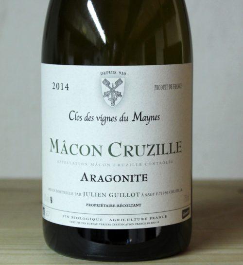Clos des Vignes du Maynes Macon-Cruzille 'Aragonite' 2014