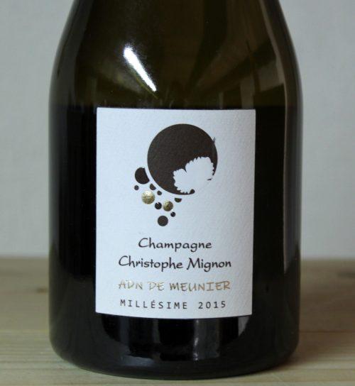 Christophe Mignon Champagne Millésime 2015 Brut Nature