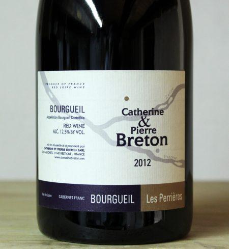 Catherine et Pierre Breton Bourgueil 'Les Perrières' 2012