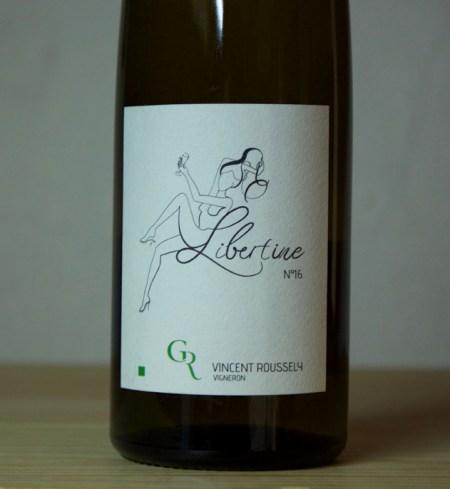Clos Roussely 'Libertine' Vin de France 2016