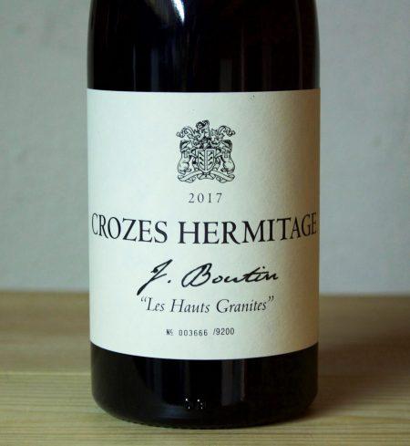 Jeannine Boutin Crozes Hermitage Les Hauts Granites