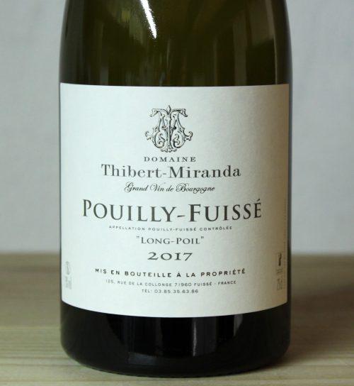 Domaine Thibert-Miranda Pouilly-Fuissé 'Long Poil' 2017
