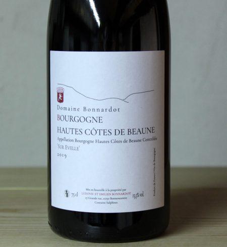 Bonnardot Hautes Côtes de Beaune 'Sur Evelle' 2019