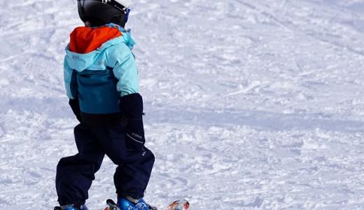 初スキー場に行った話と見かけた親子の話