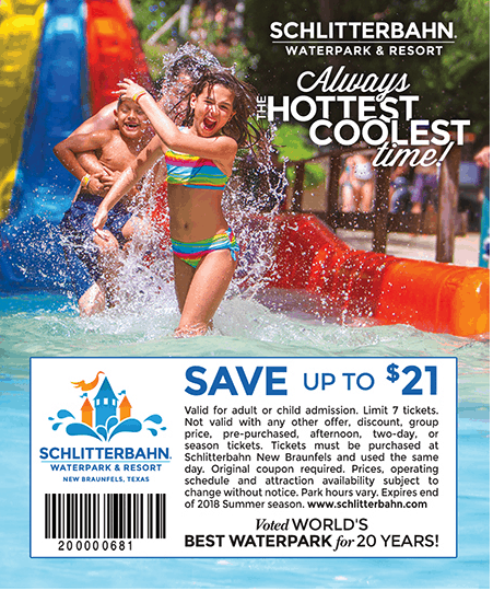 graphic about Schlitterbahn Printable Coupons named schlitterbahn reward playing cards