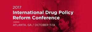 The International Drug Policy Reform Conference - Atlanta, U.S.A @  Omni Atlanta Hotel, Atlanta, U.S.A