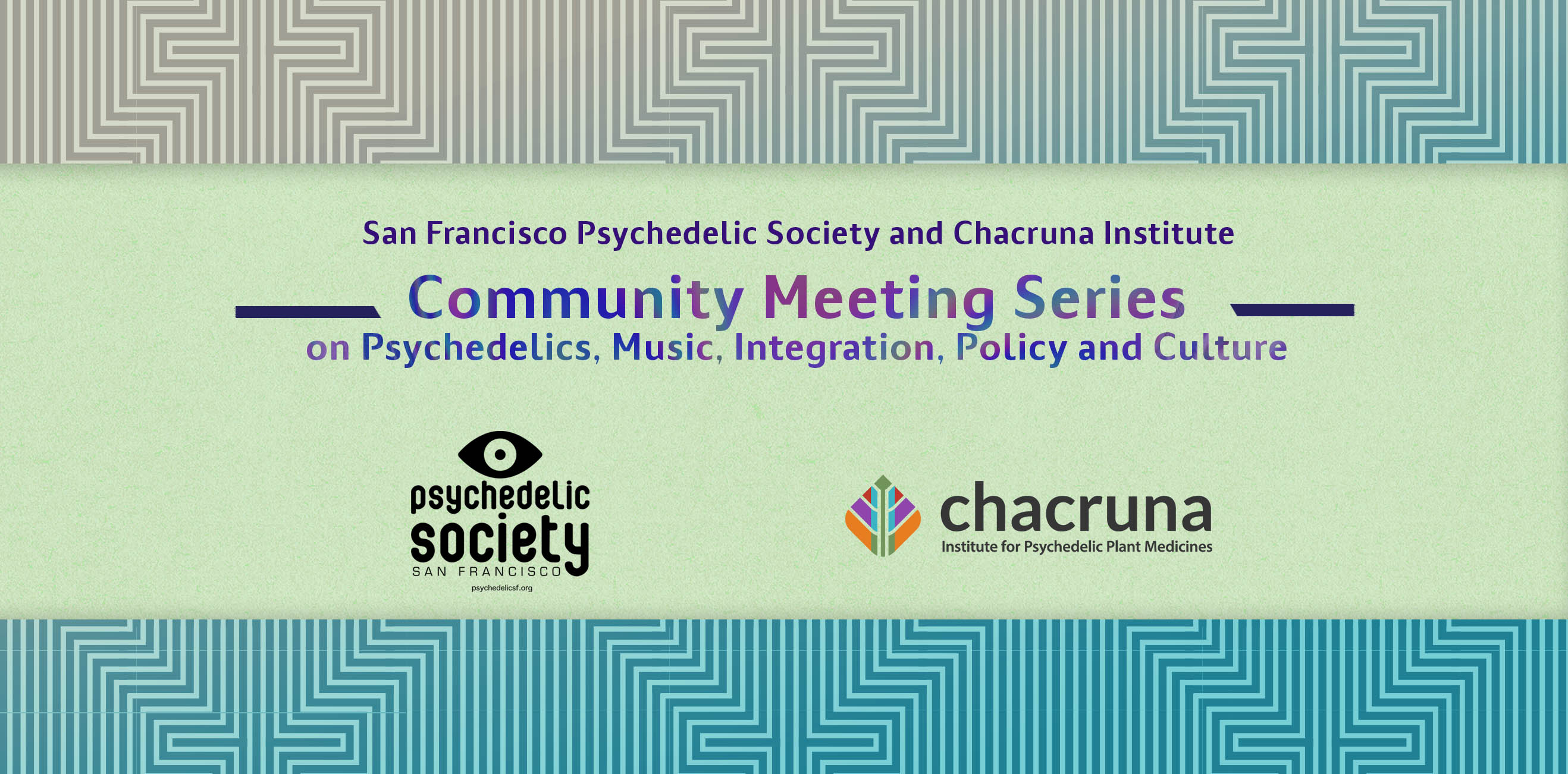 San Francisco Community Meeting Series 2019   Chacruna