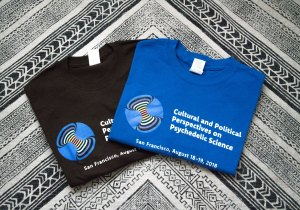 T-shirt Cultural and Political Perspectives in Psychedelic Science - Two Colors