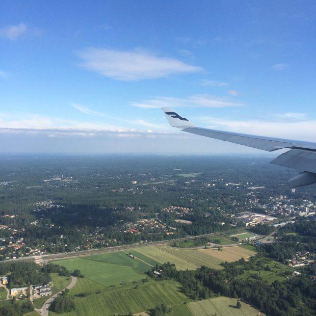 Helsinki-airplane