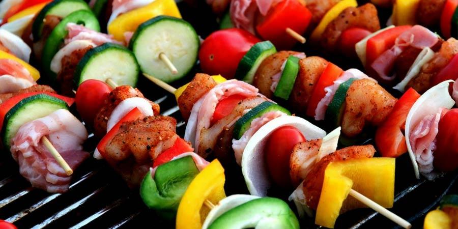 Rainbow Kababs
