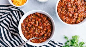 crockpot chili winter recipe