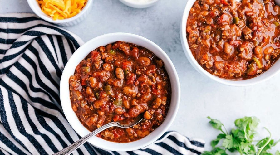 Winter Day Meal | Crockpot Chili