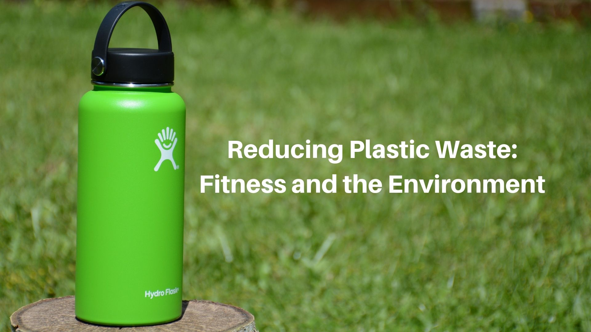Reducing Plastic: Fitness and the Environment