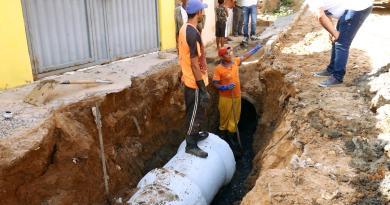Prefeitura inicia obra de saneamento no Bairro Guindaste