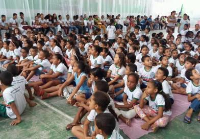 Crianças alegrienses participam do segundo dia da Semana do Bebê no município