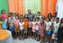 Prefeitura realiza entrega de óculos para crianças alegrienses, através do Projeto Um Novo Olhar